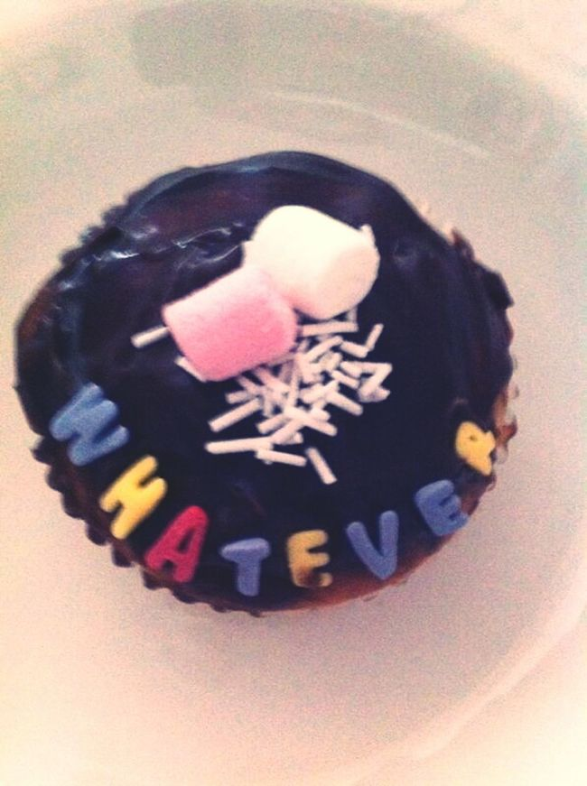 magic cupcake Cupcakes Chocolate Marshmallows Whatever