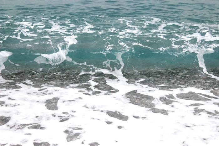 Travelling Sea Blue