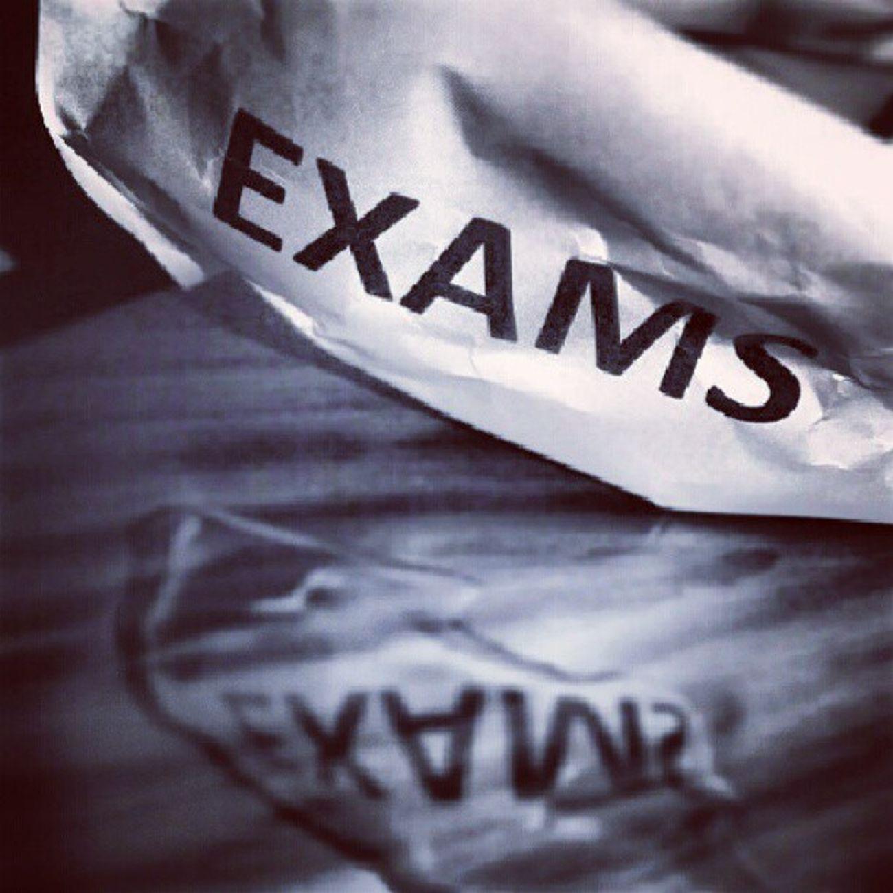 Exams :/
