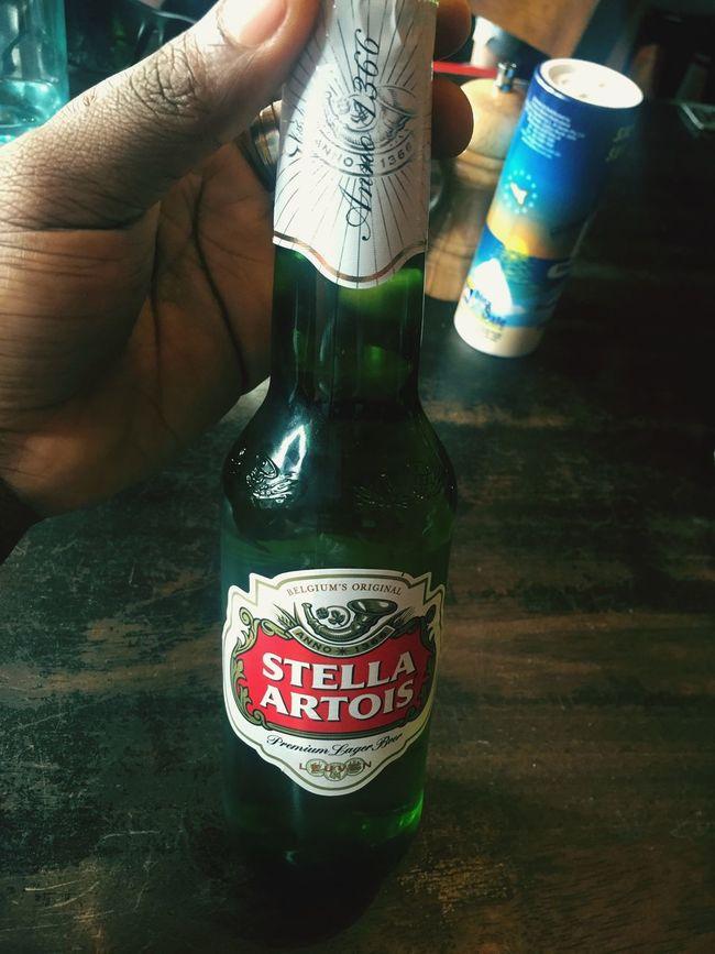 Favorite beer Stellaartois
