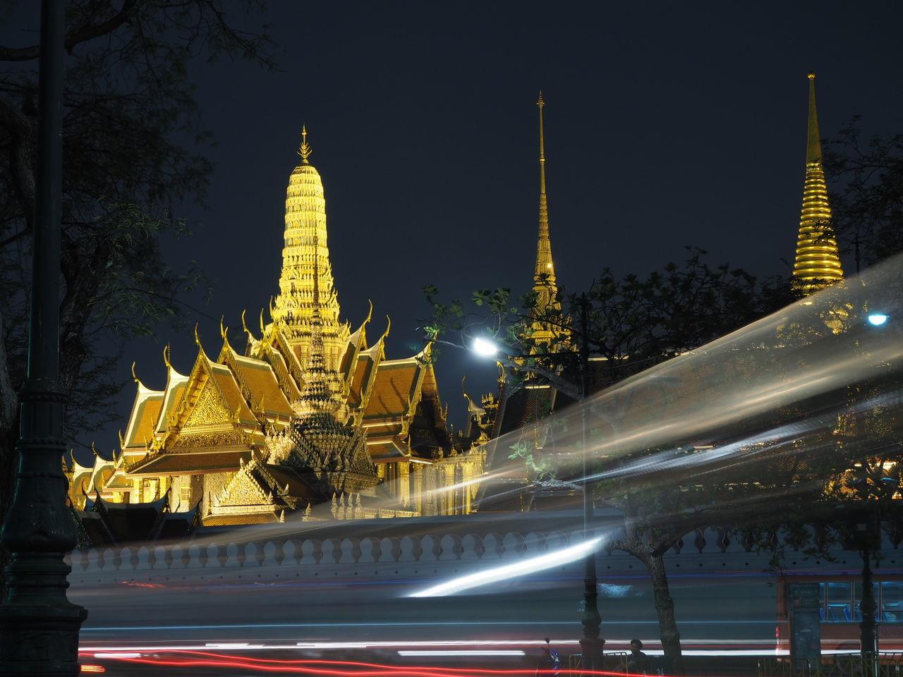 Grand Place Chakri Emerald Buddha Temple Bangkok Phra Nakhon ท่ามหาราช ท่าพระ ท่าช้าง
