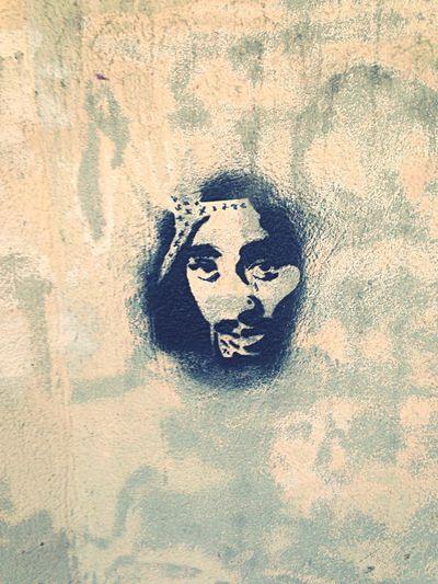 'L'art, griffe de la Terre.' Art Street Art Terre Griffe
