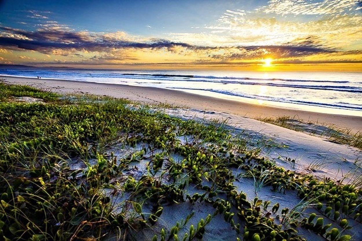 Sunrise on Seven Mile Beach Life Is A Beach Landscape Sunrise Australia