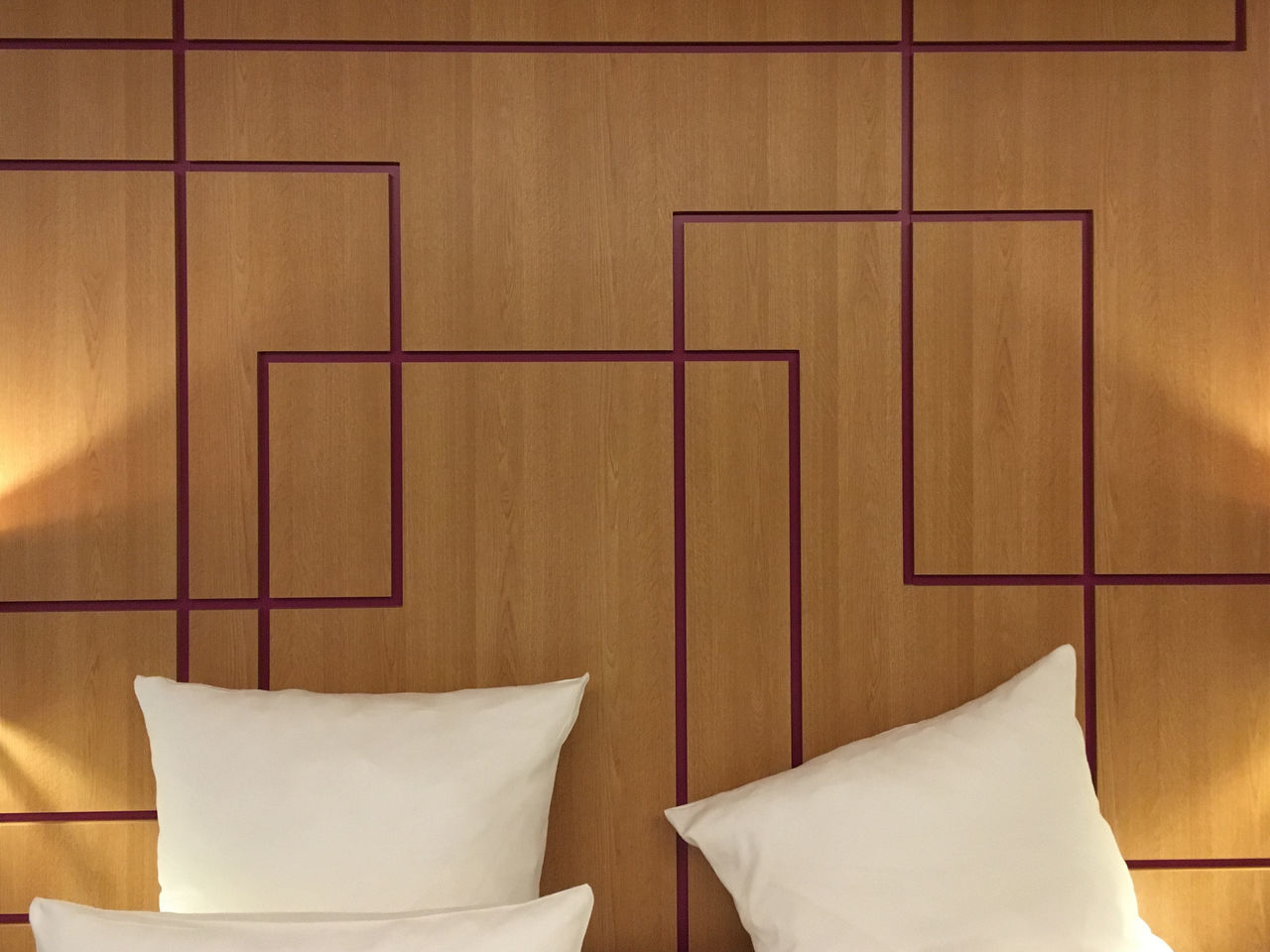 Architecture Bed Day Hotel Room Indoors  Nearly Perfect No People Pattern Wood Paneling
