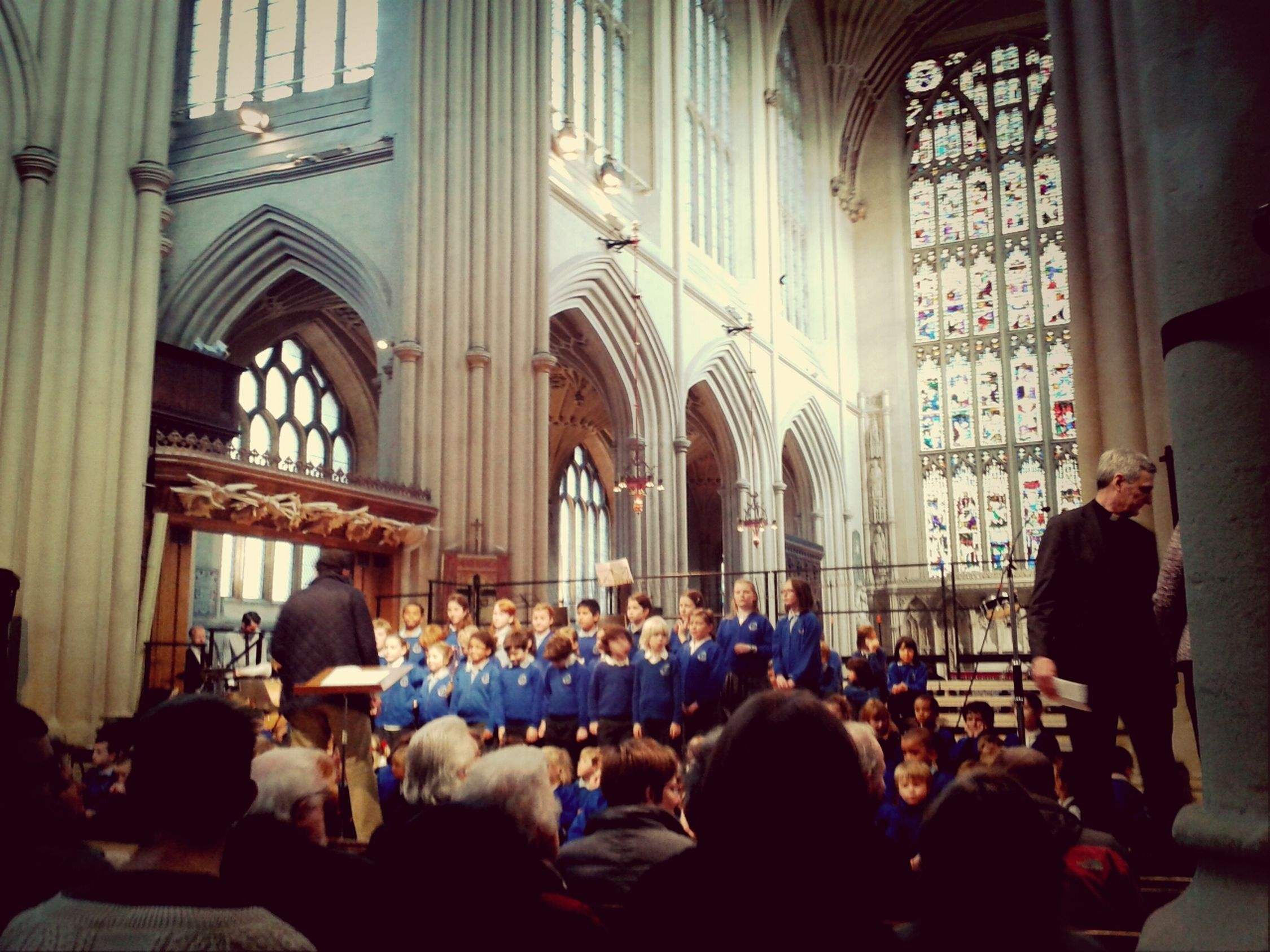 Friday afternoons. Amazing concert. So proud. Benjamin Britten Yeartwo