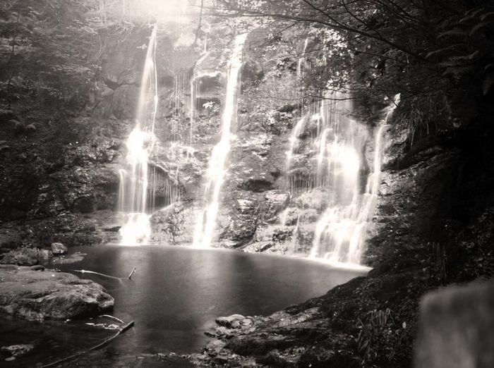 The Horseshoe waterfall at Glenariff. Detailsofmylife