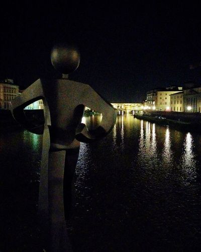 Cities At Night Firenze Florence Night Cityscape Lungarno Ponteallegrazie Italy Arno  River Fiume Pontevecchio Battle Of The Cities Overnight Success