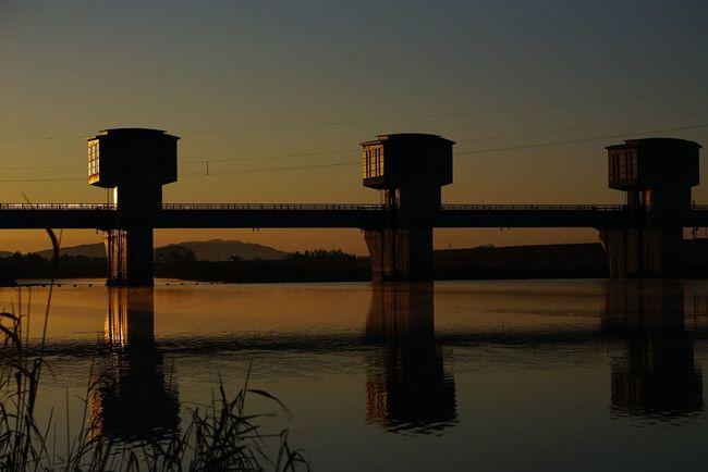 朝日 鳴瀬川