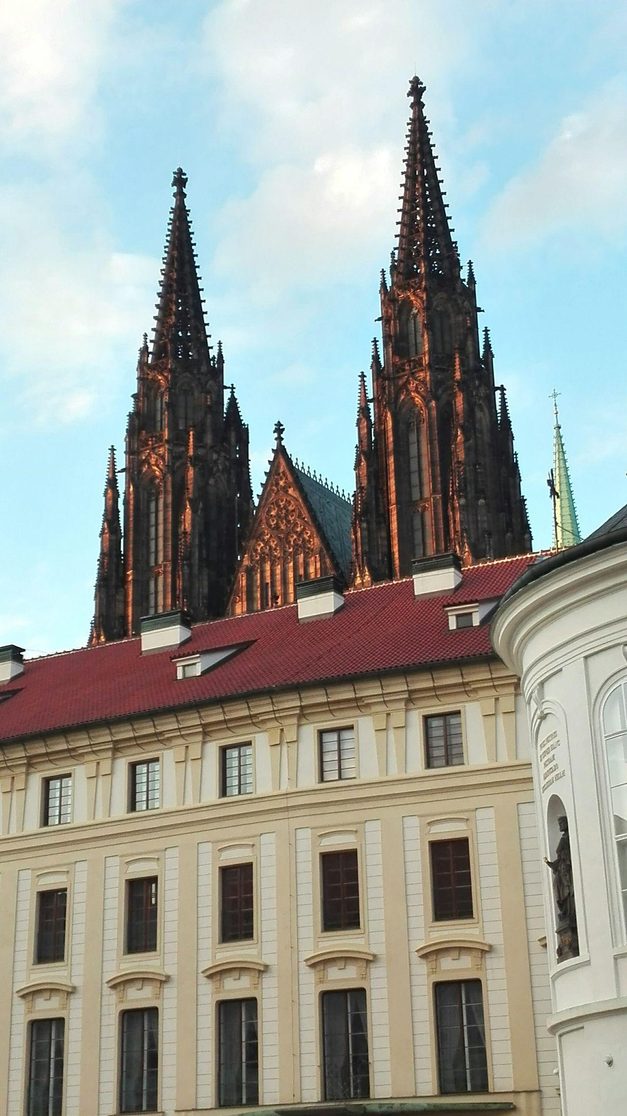 St. Vitus Cathedral Prague Prague Castle Architecture Historical Building Historical Place Historical Monuments