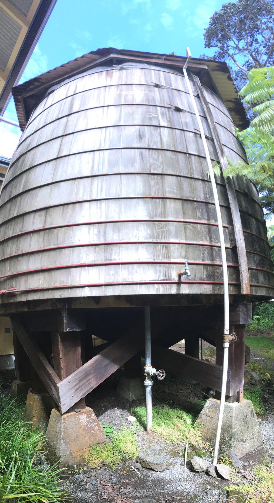 Kilauea Lodge Water Tank Water Tanks