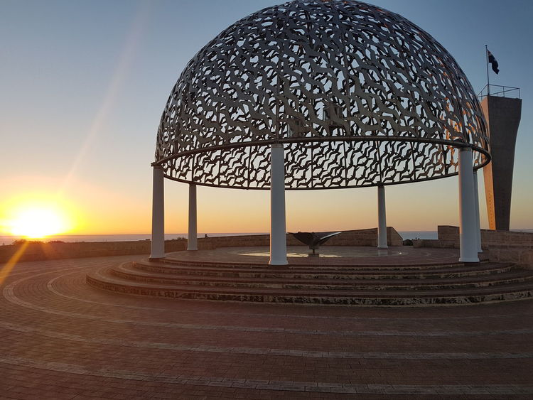 EyeEm Selects EyeEmNewHerе Spirituality Memorial HMAS Sydney II Western Australia Sunset Geraldton Sunset
