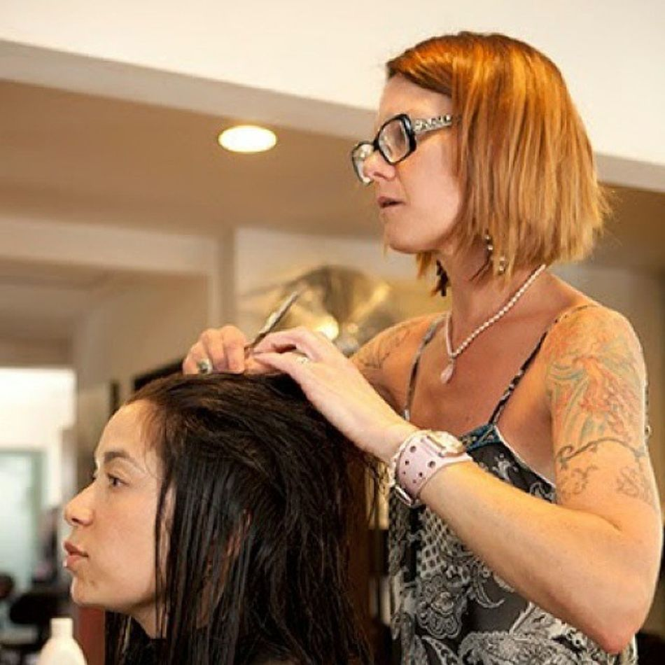 My beautiful brunette client/friend Carla. Beverlyhills Haircolor Haircut Hairphoto hairstyle