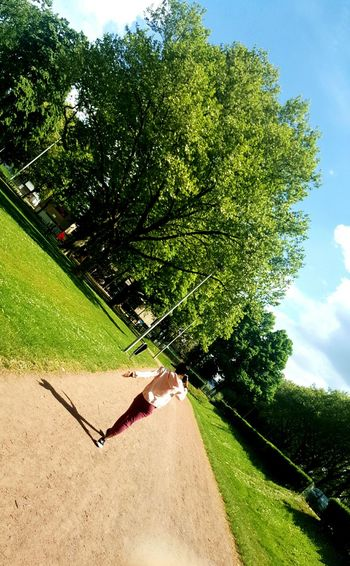 Walking Wander Sunny Day 🌞 Photography Grass Trees Mood Lightning Liège Sister