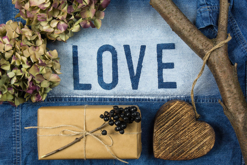 Beautiful stock photos of valentinstag,  Branch,  Close-Up,  Day,  Denim