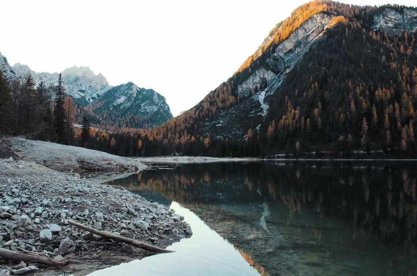 Lago di Braies, Val di Braies, Val Pusteria, Trentino Alto-Adige, Italia. Braies Lagodibraies Valdibraies Valpusteria Trentinoaltoadige Trentinodavivere Italia Lostinthelandscape Mountain Italianphotography EyeEmNewHere Lostinthemoment Nikonphotographer Lightsandshadows Reflection Water Lake Sunsetlover Tree Mountainlover Nikonphotography Beauty In Nature Nikon D5100  Italy Landscape Perspectives On Nature Be. Ready. Rethink Things Shades Of Winter An Eye For Travel