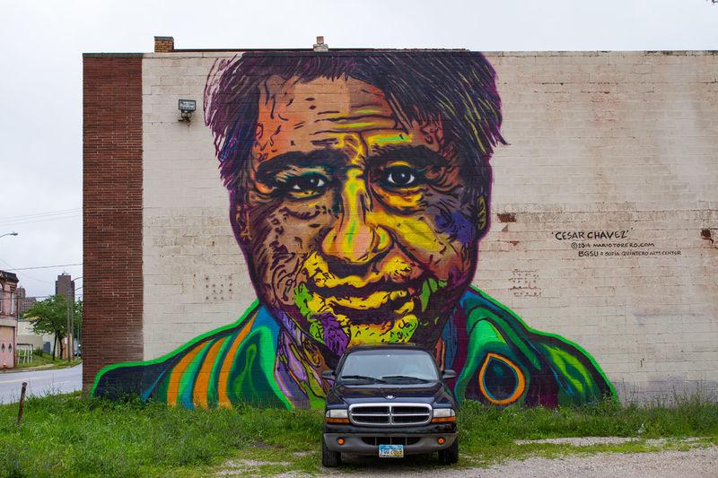 Art Colors Creativity Eric Barnes Photography Human Representation Mural Ohio Toledo The Street Photographer - 2016 EyeEm Awards