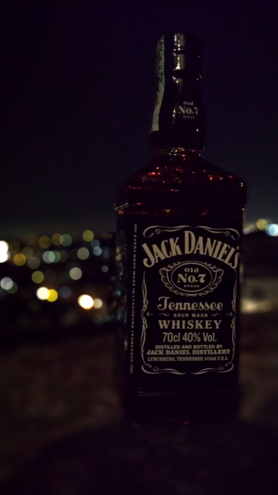 Jack Daniels Alcool  Bottle Jackdaniels Naples Night Night Photography Party San Martino Napoli First Eyeem Photo
