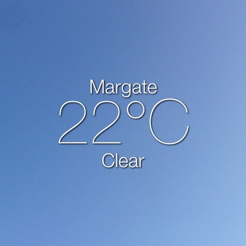 Weather Instaweather Instaweatherpro Sky outdoors nature world margate unitedkingdom bbq day summer clear gb