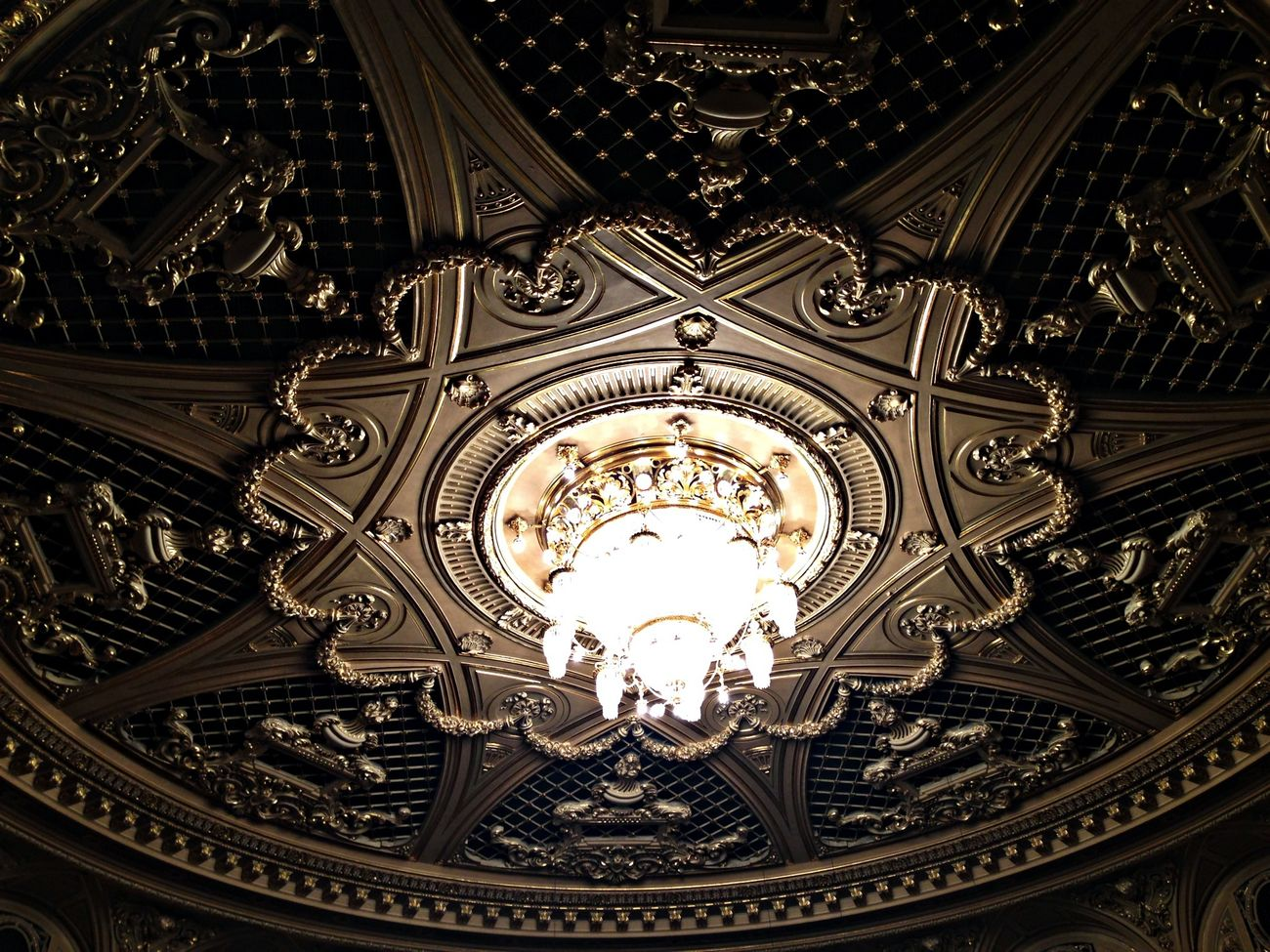 Architecture Chandelier Theater