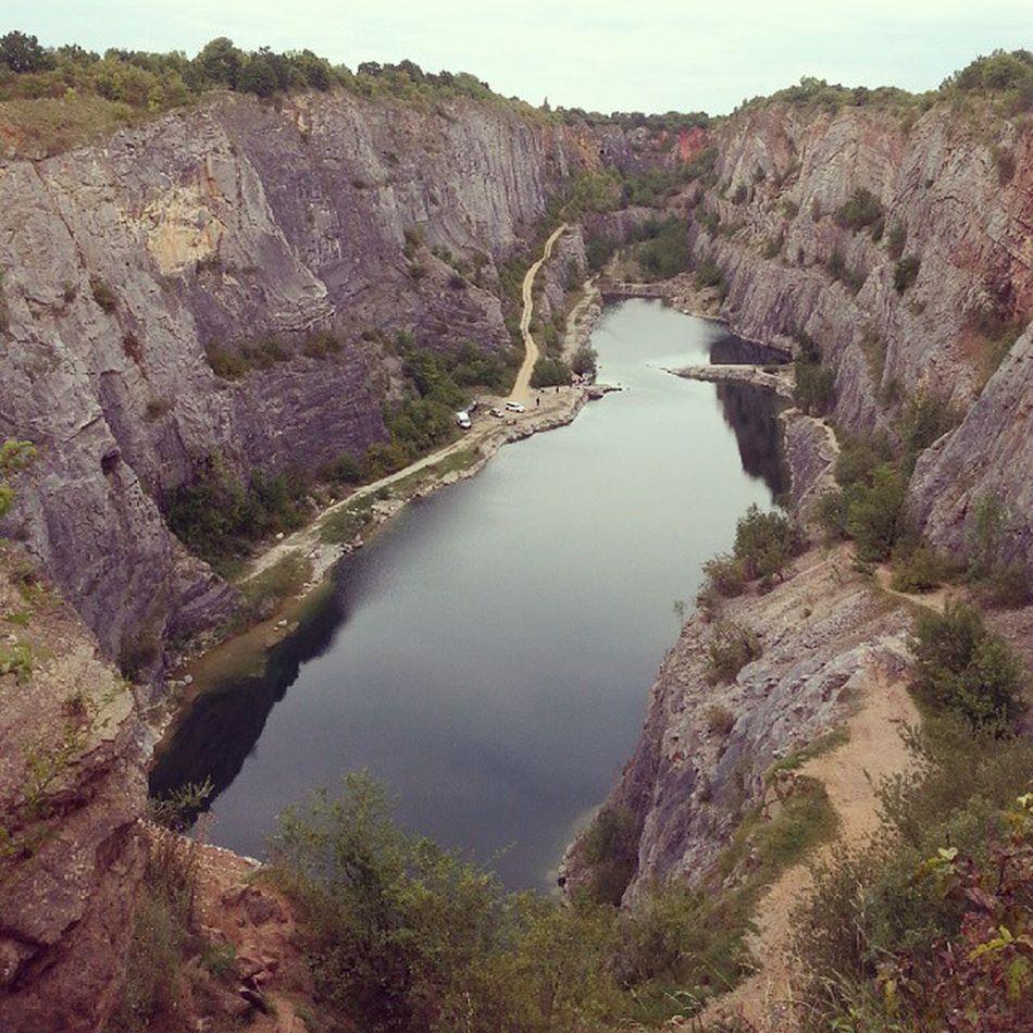 Zatopenylom Lom Nature Water czech trip velkaamerika usa karlstejn