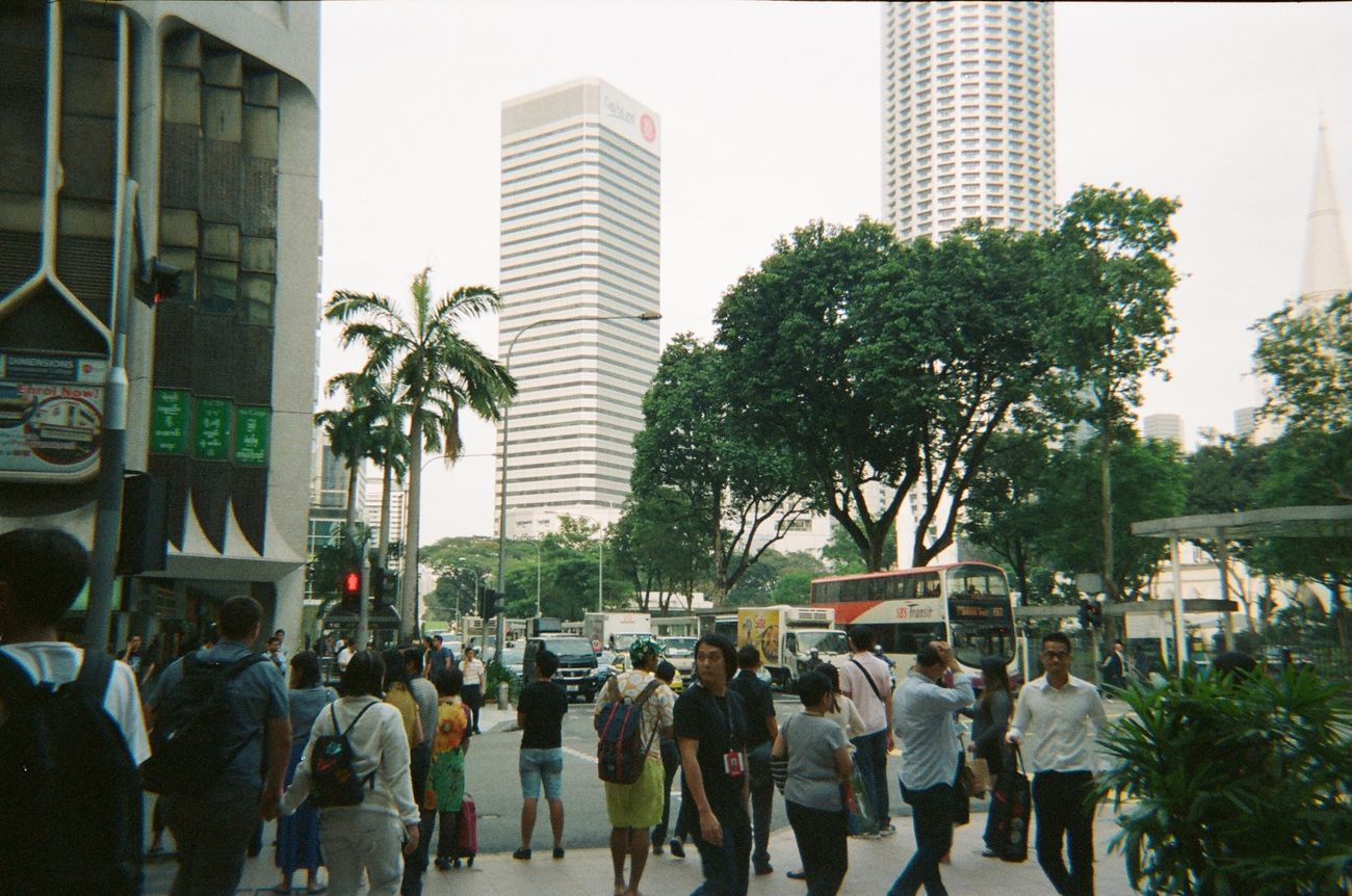 I like tropical city. Photography Film Kodakfunsaver Travel Singapore Cityscapes Snap
