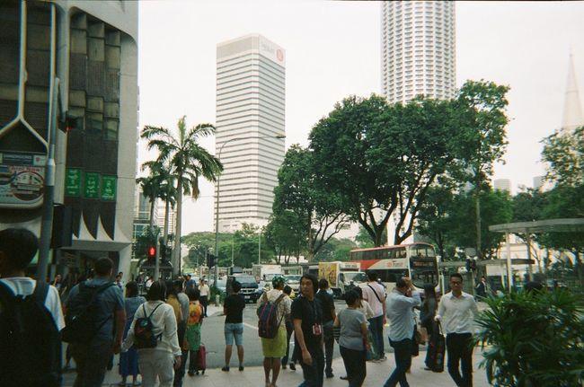 I like tropical city. Photography Film Kodakfunsaver Travel Singapore Cityscapes Snap