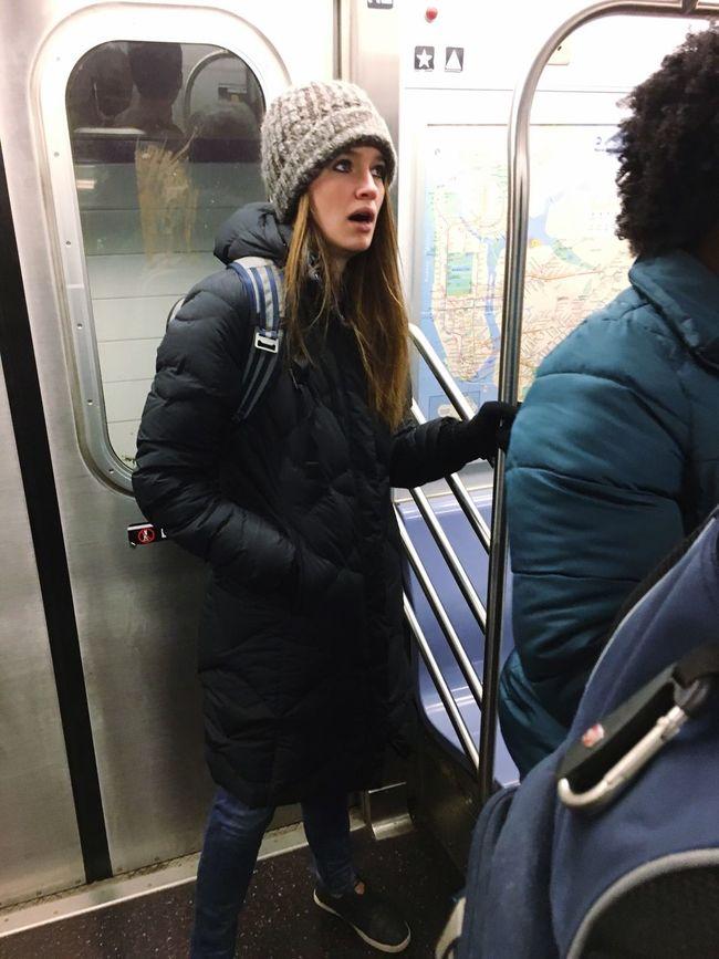 Riding The Train