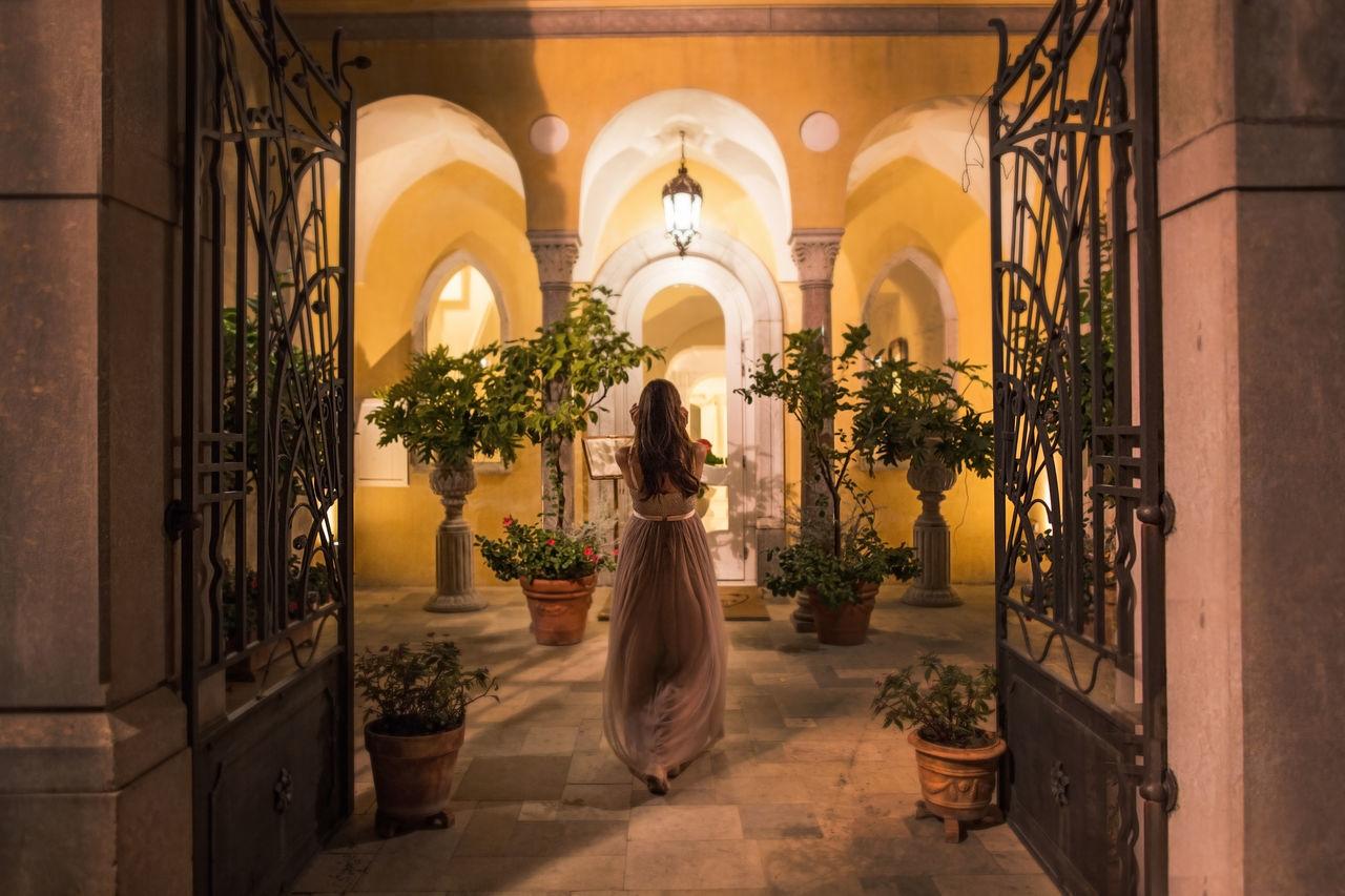 Architecture Doors Drees Eyem Eyemphotography Hair Italian Italy Light Night Nightlife Nightphotography Only Women Picoftheday Plant Plants Ravello Rear View Shadow Shadows Shadows & Lights Walk Window Windows Woman