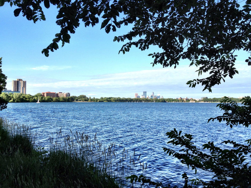 Beautiful day at lake calhoun by Denrael