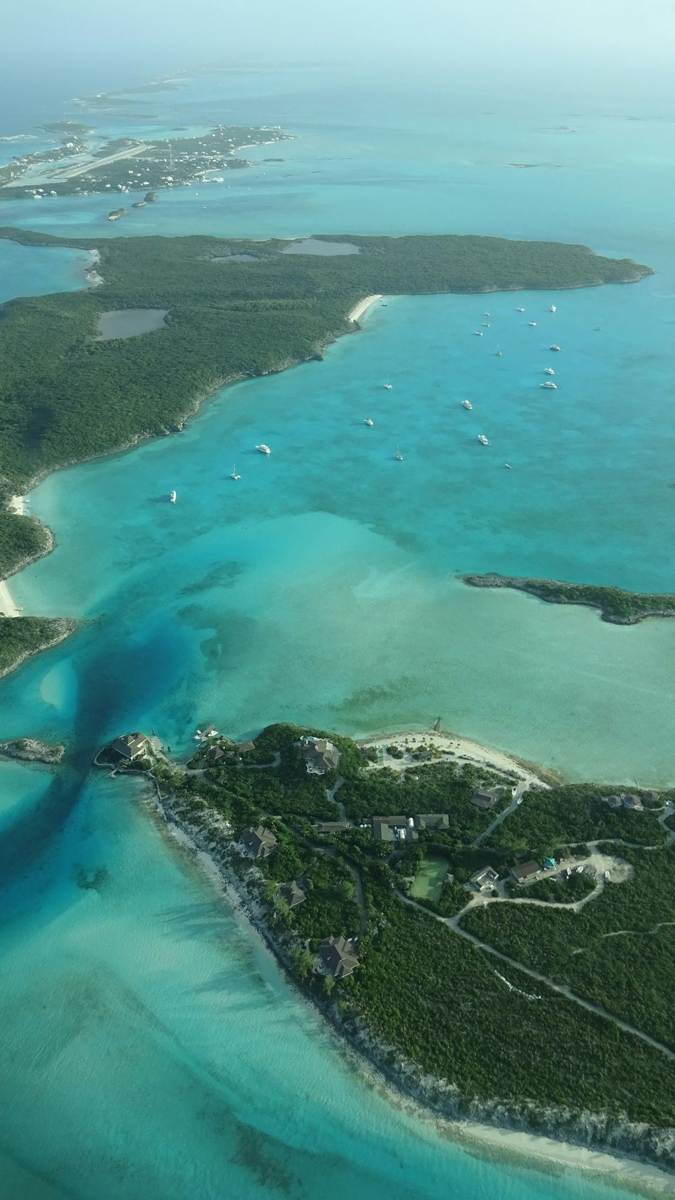 Beautiful stock photos of bahamas, Aerial View, Beauty In Nature, Day, Horizon Over Water