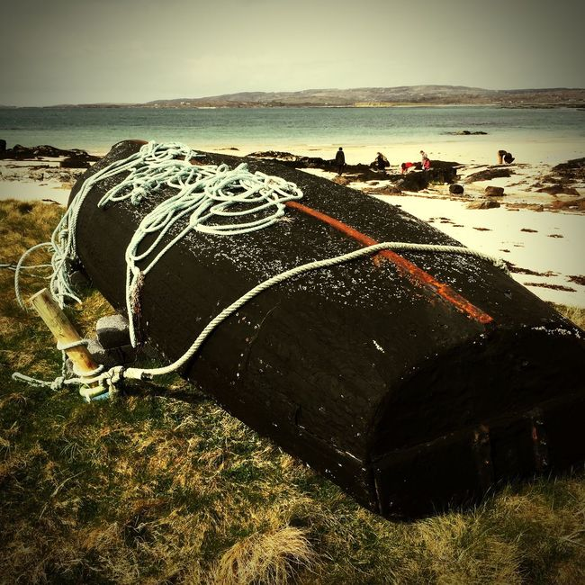 Clifden Irland Irlande Hello World Bonjour Le Monde Taking Photos Eire Bateau Boat Chaloupe Mer Sea Sable 🌴 Plage 🌴
