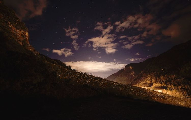 Hanging Out Landscape Exploring Andorra Nightphotography Night Stars
