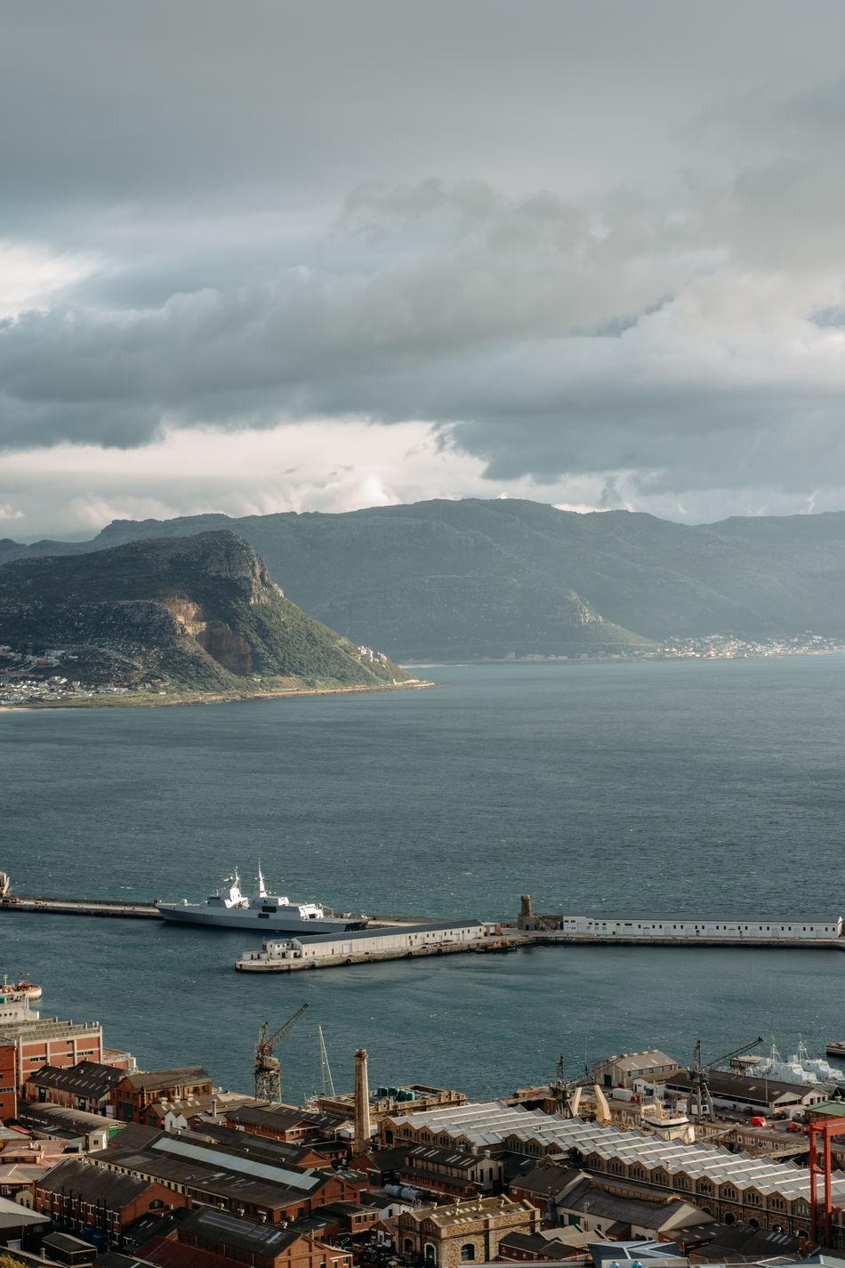 Cape Town Clouds Coast Coastal Life Coastline Mountains Navy Ocean South Africa