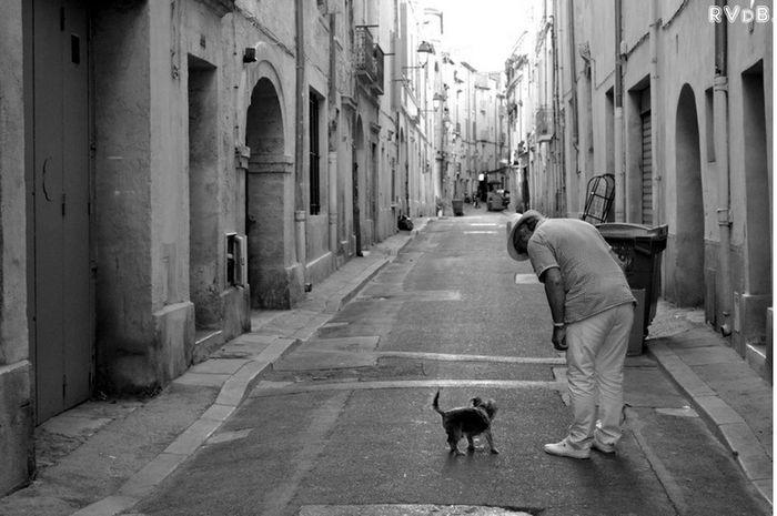 Traveling Streetphotography Blackandwhite Monpellier