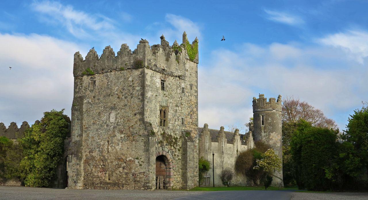 Howth Castle Dublin Irish Castle Ireland Building