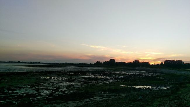 Sunset Chichester Harbour Nutbourne Sunset Silhouettes