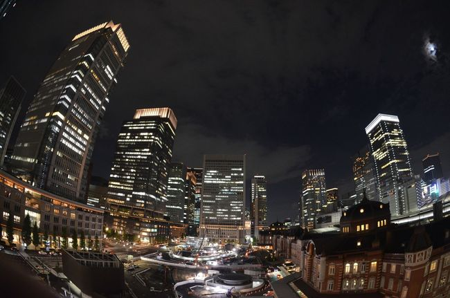 Tokyo Night Introducing Culture Of Japan Which Must Be Left To The Future…… 未来に残す日本の文化 Tokyo Station