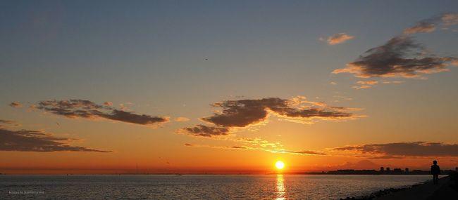 茜浜。雨上がりの日は夕日が綺麗。 Sunset Sunset_collection Sunsetporn Beautiful Sunset
