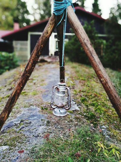 Candle Outdoors Focus On Foreground Structure Homemade Autumn🍁🍁🍁