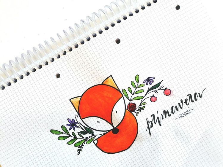 Drawing Time Calligraphyart Drawingart Drawing, Painting, Artwork Art Drawing  Fine Line Art Drawing  Drawing Springtime Flower Spring Art, Drawing, Creativity Paper Fox🐺 Fox Foxes Springflowers ArtWork CalligraphyPractice Calligraphy Flower Head Leaf Nature Animal Themes Draw Animals♡