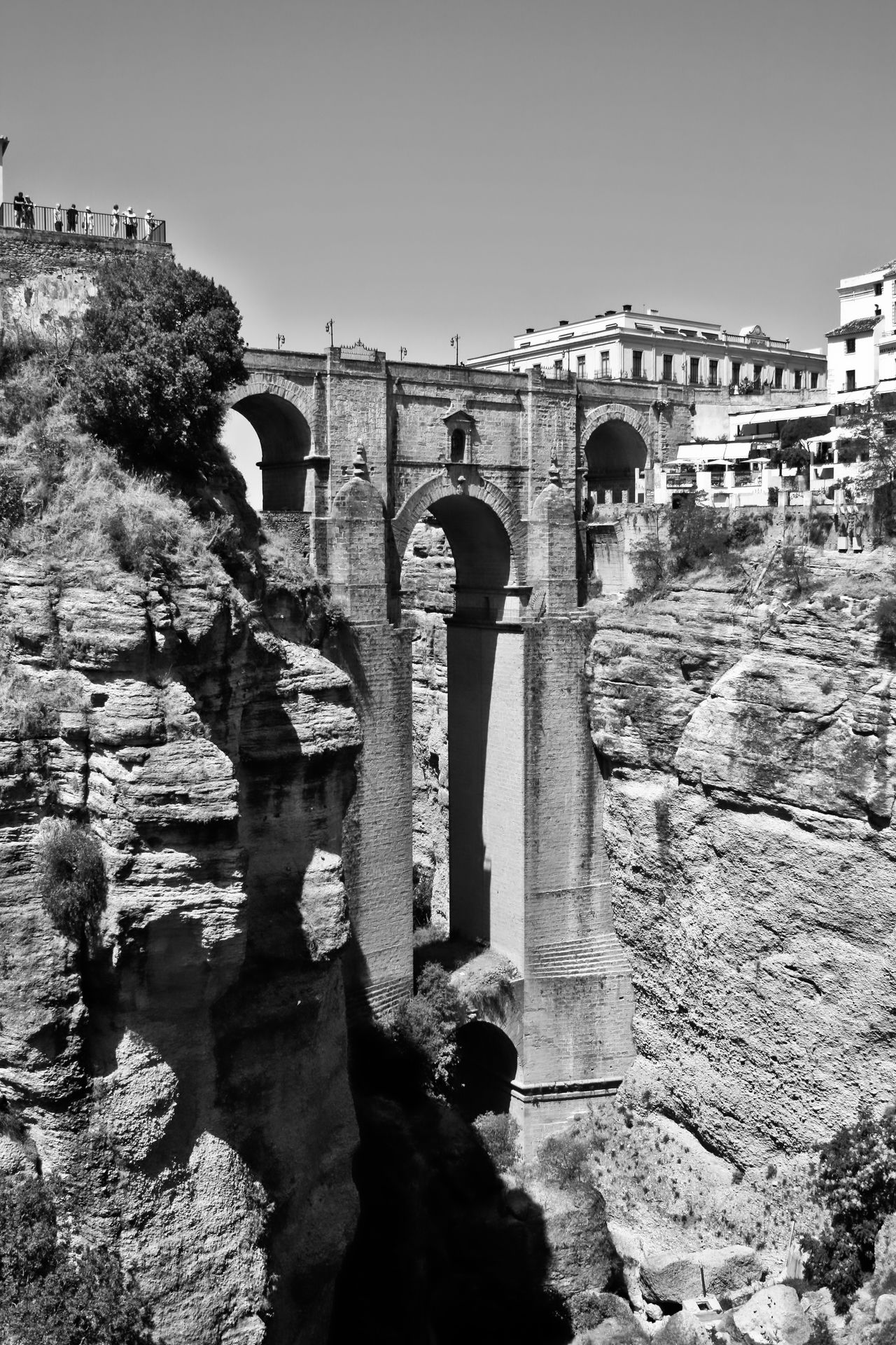 Arch Architectural Column Architecture Black & White Black And White Bridge Black And White Collection  Black And White Scenery Built Structure Historic Outdoors Ronda Bridge Ronda Bridge Black And White Ronda Scenery Ronda Spain Sky Travel Destinations