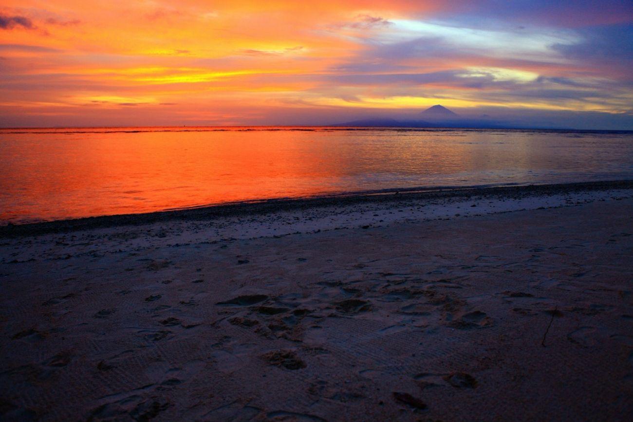 Sunset Wonderful Indonesia