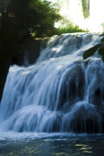 Beauty In Nature Blurred Motion Cataract Close-up Falling Flowing Flowing Water Forest Growth Long Exposure Motion Nature Non Urban Scene Non-urban Scene Outdoors Power In Nature Scenics Selective Focus Splashing Stone Monastery Tranquil Scene Tranquility Water Waterfall Zaragoza