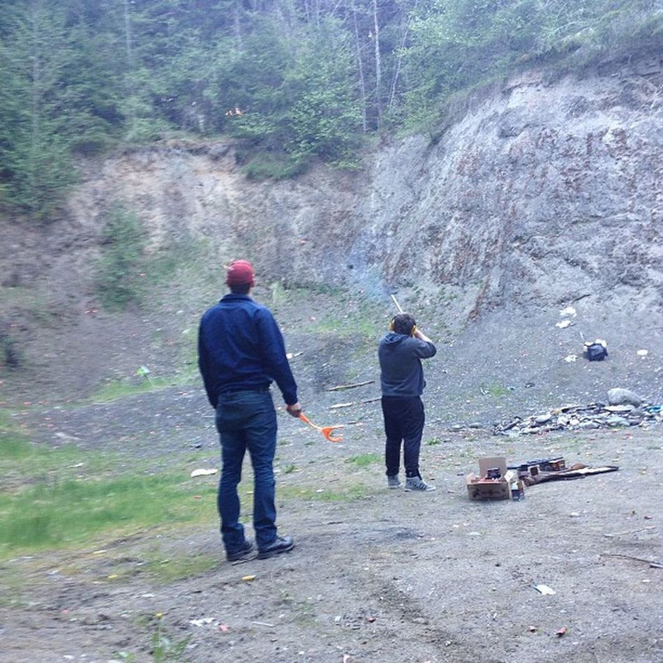Went shooting today! Vincentsfirsttime Funshit Friends