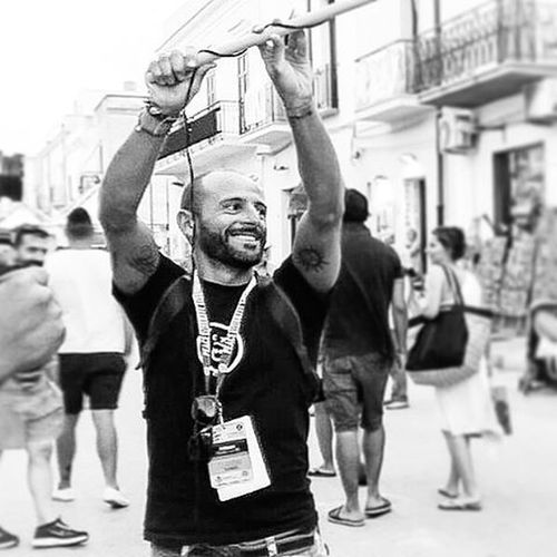 Me Working Sanvitolocapo Sicily Igersicilia Igerspalermo Ig_palermo Bw Blackandwhite Memories Man Tattooed Camera Instagood Instadaily Instamood VSCO Vscogood Smile Pic Saturday Couscousfest Street WORKHARD Sport tattoo