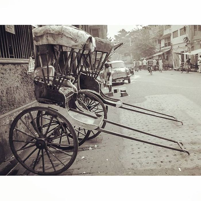 Old is gold... These hand-driven rickshaws will never be old in our very own city,Calcutta and will always be found in the by lanes of North Kolkata depicting its old culture and heritage... . . Taken during the Streets of Calcutta Amazon India Photo Walk under guidance of the curator Soumya sir @ssghosal and our team leader @deckle_edge . . Soc _soi Calcutta _ccal _cic Calcuttacacophony CalcuttaUncut Northkolkata Bylanesofnorthkolkata Bylanesofindia Retro Rickshaws Old Woodentyres Ig_india Indiapictures Instaedit Instafilter