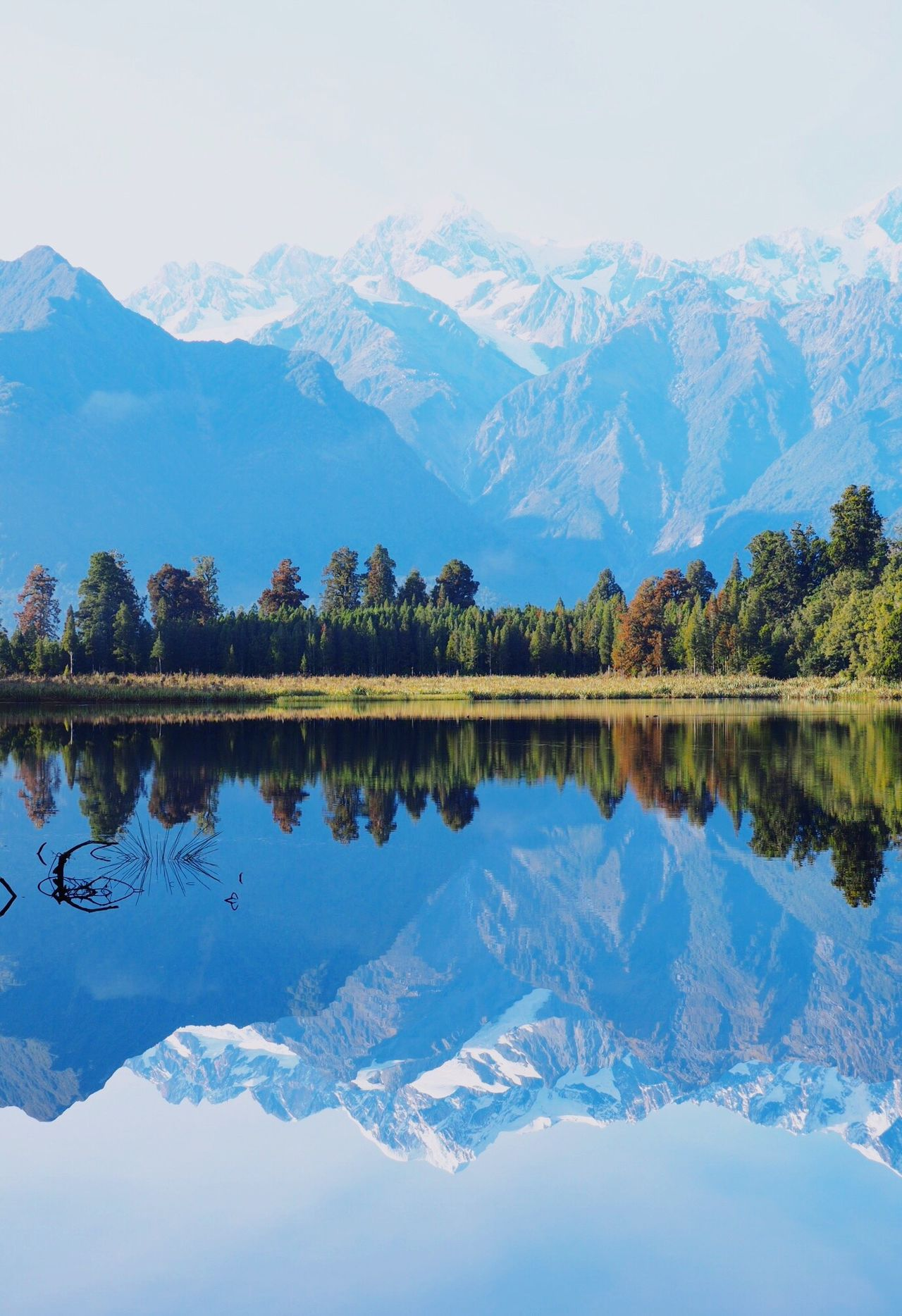 MtCook Newzealand Lake Matheson Fox Glacier Journey Traveling Trip