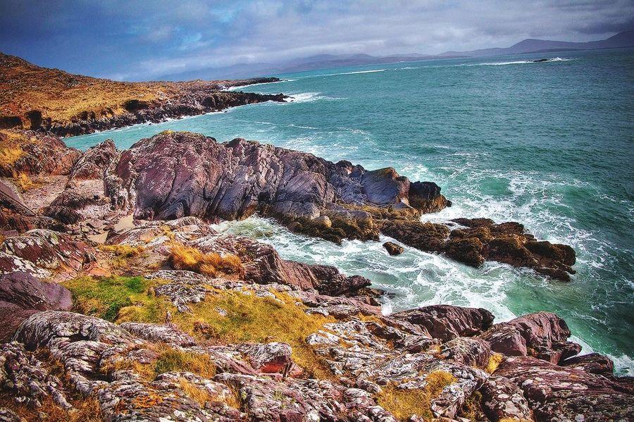 Ring of Kerry, Ireland Ring Of Kerry Ireland Coastline Sea Seaside Sea And Sky Seascape