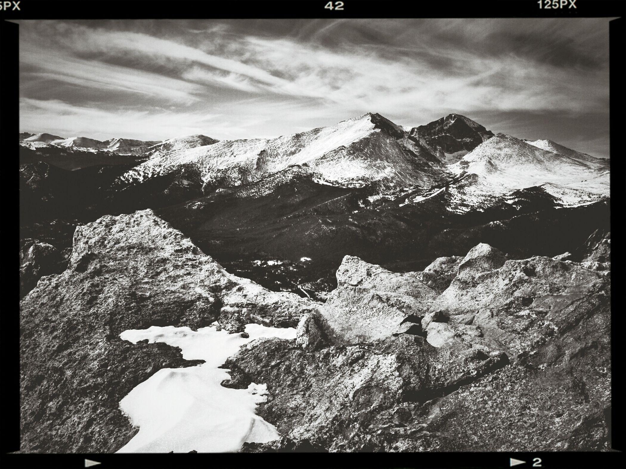 Longs Peak Rocky Mountain National Park Capa Filter
