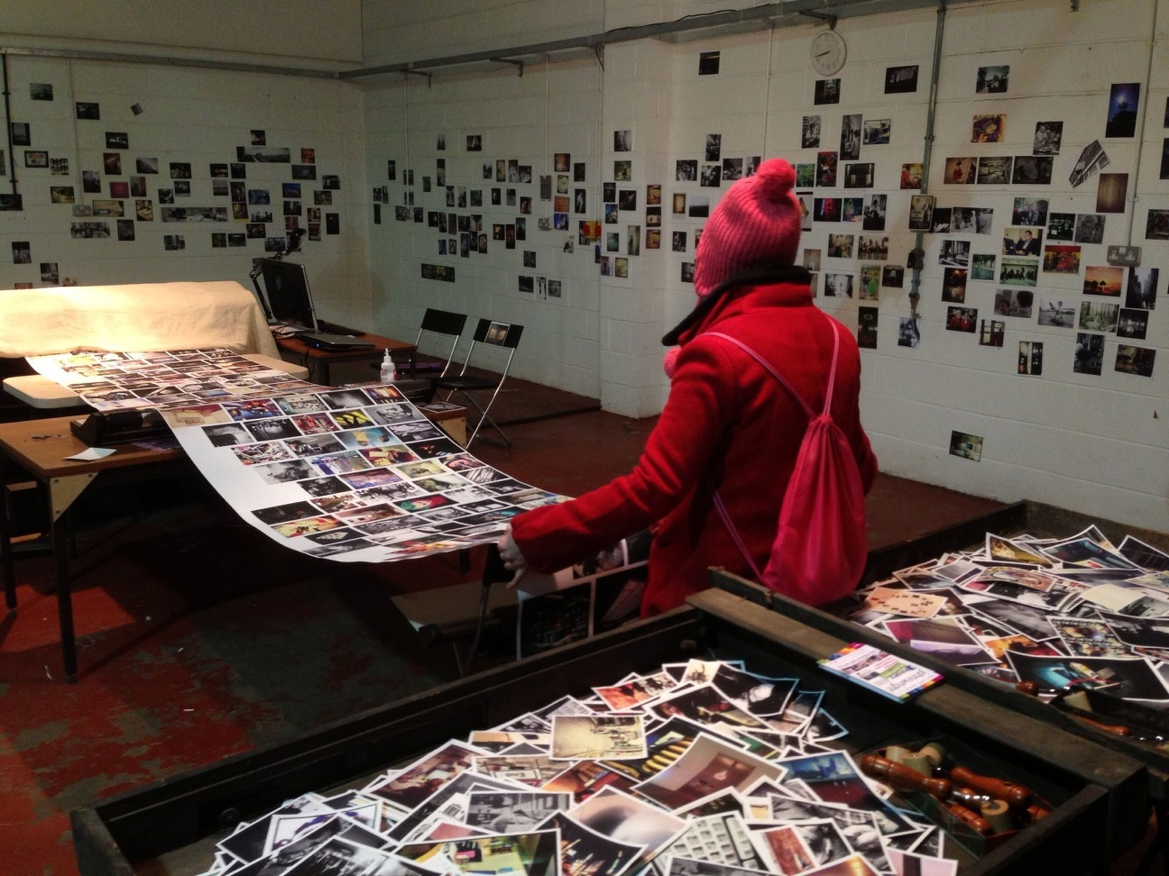 Over 2,200 photos already printed for #MobFORMAT: The Press @formatfestival #FORMAT13 The Press - Work